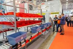 - At CeMAT Russia in Moscow, the theme e-commerce will be in focus.