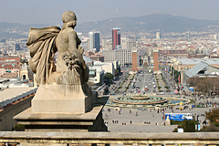- Barcelona, the capital of Catalonia, is known for its enterprising and dynamic nature. It is a city that is open to people and to the world and an international point of reference both socially and economically