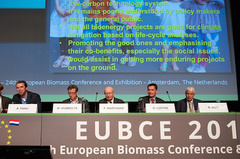- EUBCE started 1980 in Brighton as the 1st European Biomass Conference initiated by the European Commission, Directorate General for Research, Science and Education