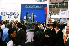 - The LogiMAT welcomed many international visitors.