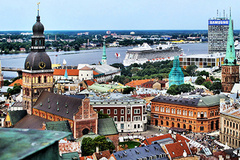 "- The Latvian capital hosted the Riga International Motor Show ""Auto"" which registered a substantial increase of visitors."
