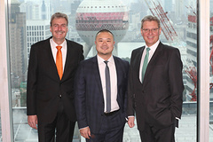 - Ten years of NürnbergMesse China: An occasion for the CEOs of NürnbergMesse Group, Dr. Roland Fleck (right) and Peter Ottmann (left) and Darren Guo, Managing Director NürnbergMesse China, to positively look ahead.