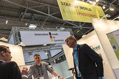 - Start-Up World: The meeting place for young founders at Laser World of Photonics