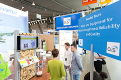 - Guided Tours wird es auch beim O&S-Nachfolger SurfaceTechnology GERMANY geben.