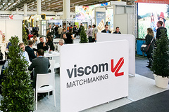 - At viscom 2017, the new matchmaking service brings together exhibitors and trade visitors.