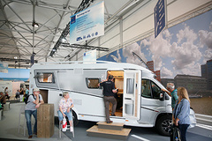 - The StarterWorld is located centrally in the outdoor space in its own dedicated area, Hall 18.