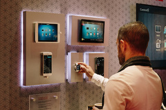 - Besides Professional AV and Consumer Electronics Home Automation is one of the main topics of ISE exhibition