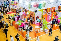 - Asia Fruit Logistica covers two halls this year, and bookings for exhibition space have expanded by around 30 per cent on the 2016 show.