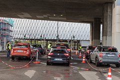 "- Opening of the first section of the exhibition centre Car Park ""Zoobrücke"" in time for the dmexco 2017 (with the first 2,000 parking spaces)."