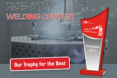 - The contestants ranked in the first places in the Robot Welding Contest will also receive, amongst other prizes, trophies with their names and the names of the manufacturers with whose robots they have carried out the welding.