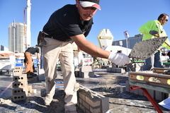 - The Masonry Skills Challenge at WOC attracts lots of visitors