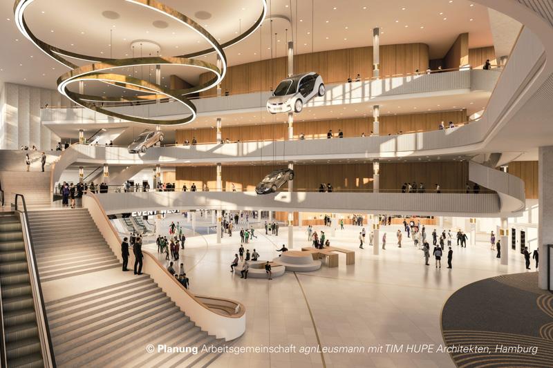 Foto: Hamburg Messe und Congress GmbH / Planung Arbeitsgemeinschaft agnLeusmann mit TIM HUPE Architekten